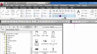 Beginner Autocad Easy #39 - Add Blocks Using The Design Center
