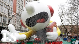 Happy Thanksgiving 2019: New York City prepares for windy Thanksgiving Day Parade