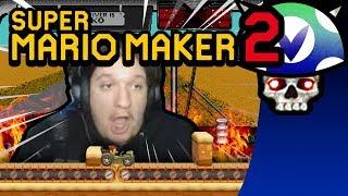 [Vinesauce] Joel - Super Mario Maker 2 ( Simpleflip's Desert Bus Challenge )