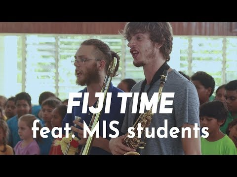 Globeshakers Project ft. MIS students - Fiji Time - Live @ Suva