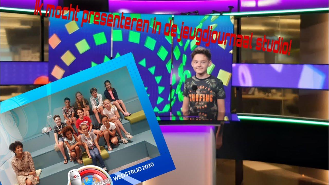 IK MOCHT IN DE JEUGDJOURNAAL STUDIO PRESENTEREN! (+ Jeugdjournaal achter de schermen)
