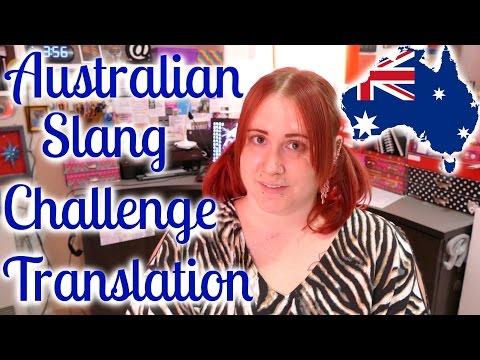 Australian Slang Story *English Translation