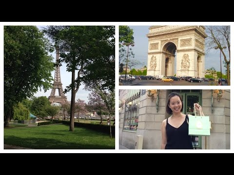 Paris Day 1 Eiffel Tower and Arc De Triomphe | MORE SEREIN