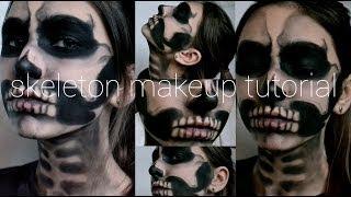 Skeleton Makeup Tutorial | Halloween 2013 Thumbnail