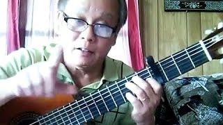 SOLO không cần Tab, Nốt Nhạc - SLOW ROCK - Diễm Xưa (Bao Hoang Guitar)