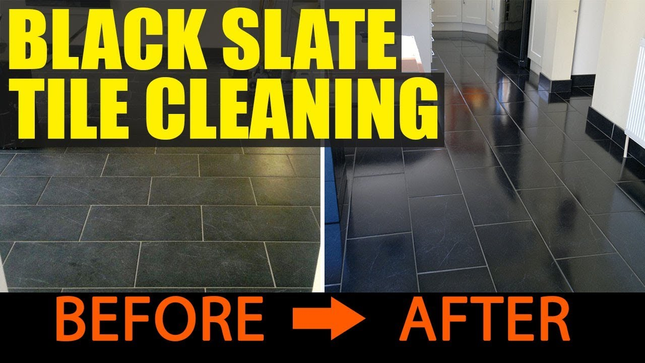 Cleaning black slate tiles in portsmouth youtube cleaning black slate tiles in portsmouth dailygadgetfo Gallery