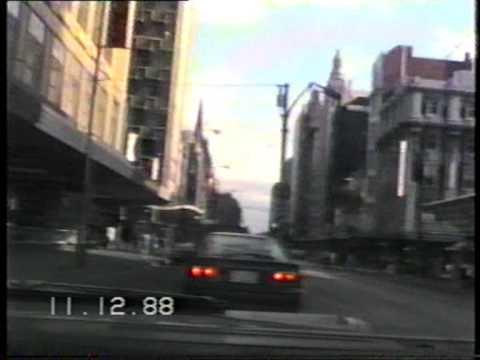 1988 Swanston St Melbourne Part 1.