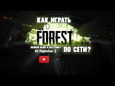 Как играть в The Forest по сети на пиратке с другом![Рабочий способ!]
