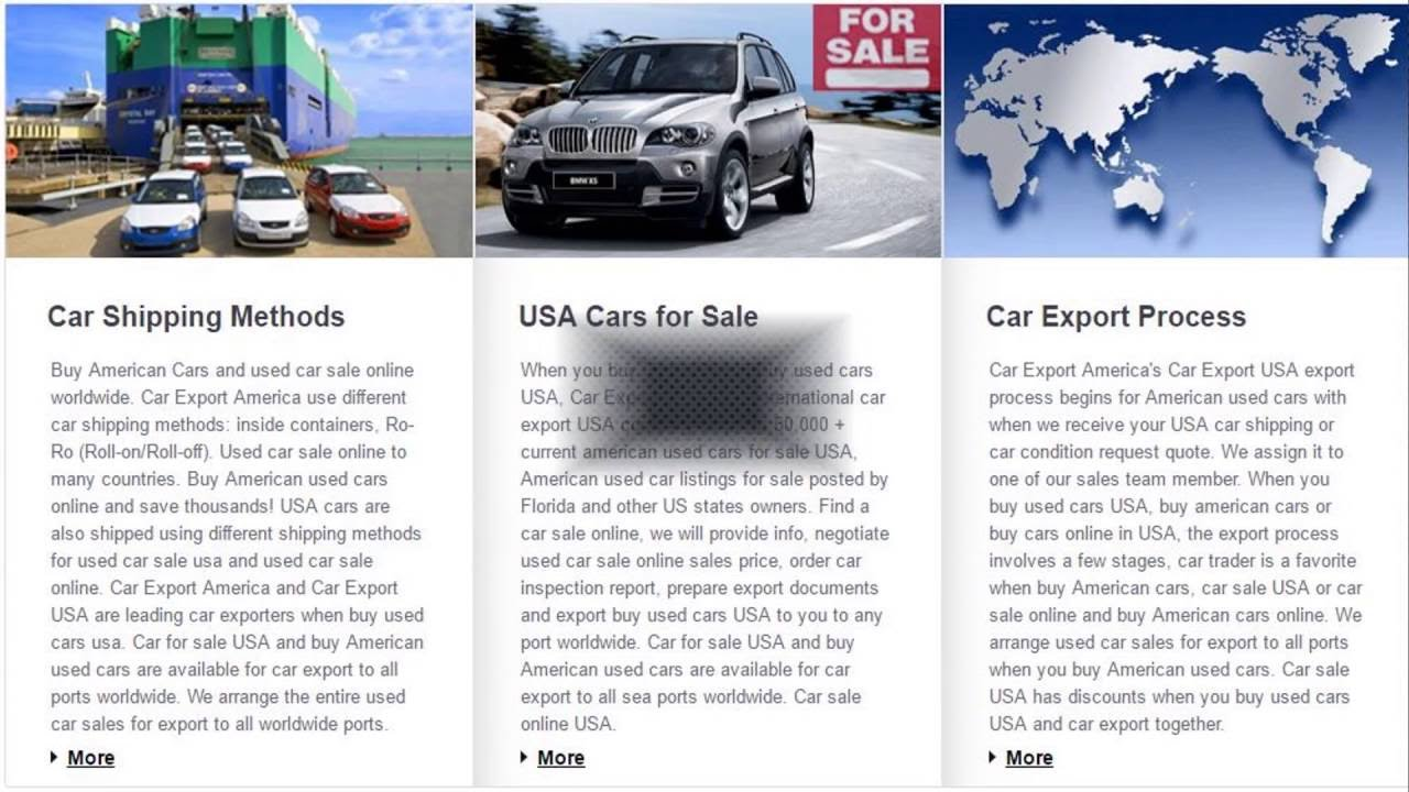 Export and selling online with our modern car - YouTube
