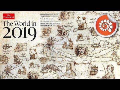 La nouvelle couverture The Economist : The World in 2019 ?