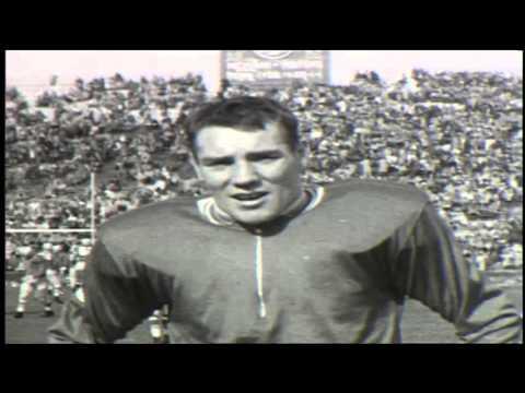 """Big Ten Film Vault: 1955 Yearbook -  Howard """"Hopalong"""" Cassidy Heisman Trophy Winner"""
