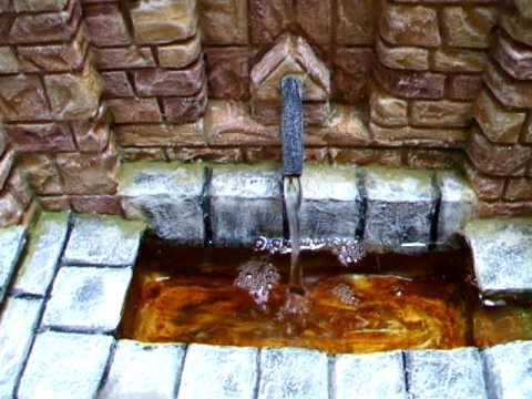 Fuente para bel n youtube - Fuente de pared ...