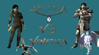 gothic4 Arcania VS Venetica Виртуальная Схватка