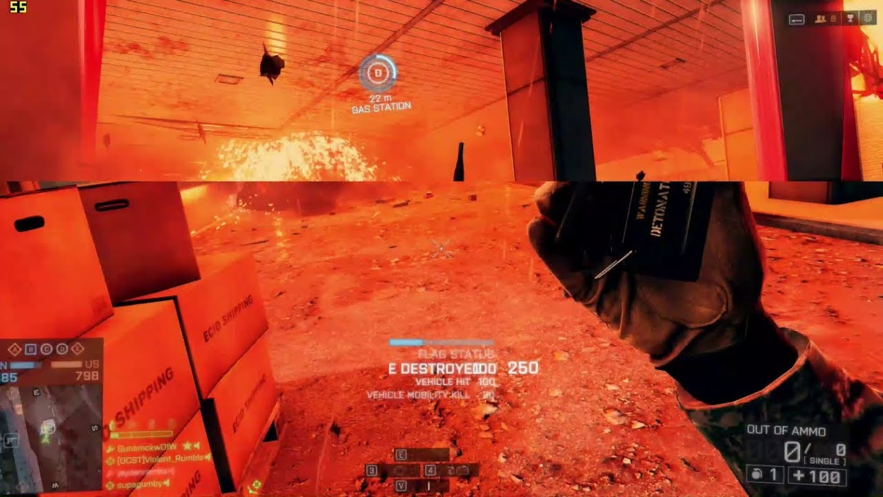 Battlefield 4 Pc Gameplay Screen Tearing Youtube