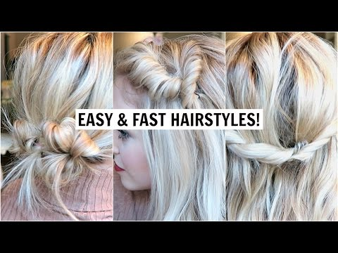 4 Cute Hairstyles for Short, Medium Hair Tutorial Cute Girls Hairstyles & Braids