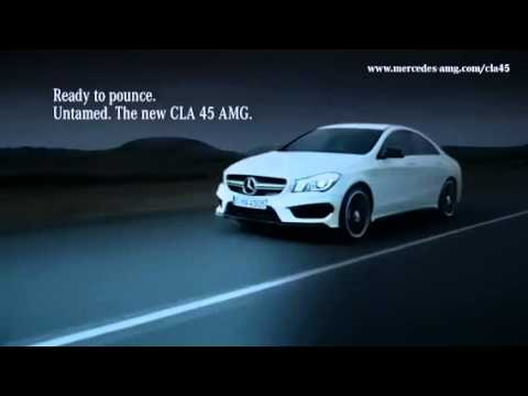 Mercedes Cla 45 Amg Pub Youtube