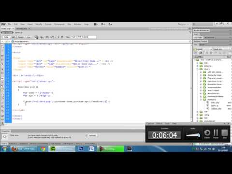 JavaScript: Post to PHP (AJAX)