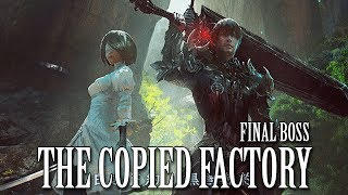 FFXIV OST The Copied Factory Final Boss Theme ( Weight of the World - Prelude Version )