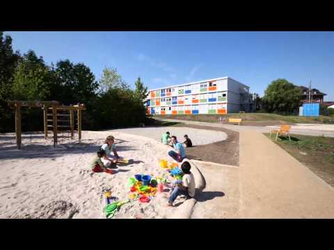CONTAINEX Project Asylum seeker accommodation Berlin Germany