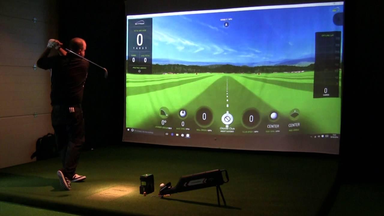 Skytrak Golf Launch Monitor Demo Doovi
