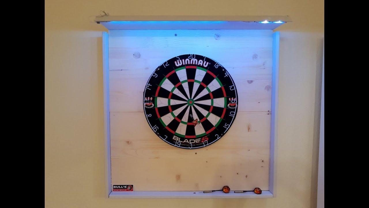 15 zoll Elektrische Dartscheibe Dartautomat Dartboard LED Display mit 6 Darts DE