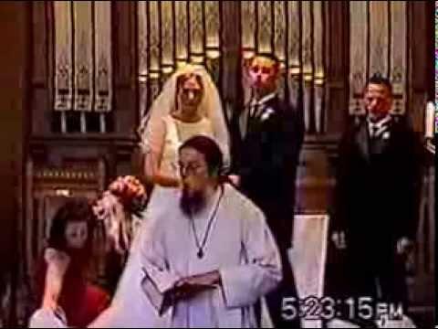 Amy O'Brien & Bryan Peterson wedding ceremony Sept 2, 2000
