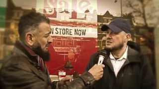 Tearful,6 Minutes Catholic to Muslim - Part 2.  'Live' Street Da'wah