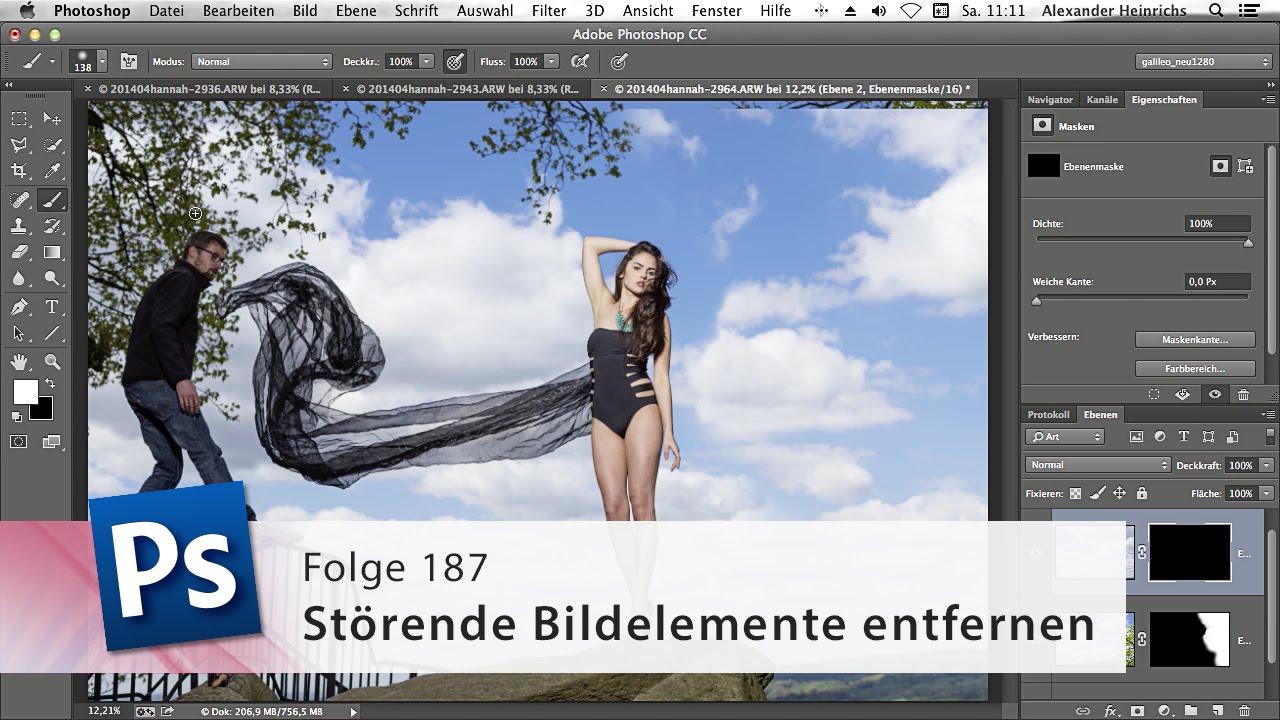 Photoshop-Tutorial für Anfänger (Deutsch) - YouTube