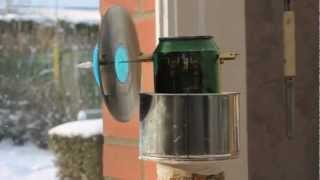 [ HD 1080p ] Homemade Stirling Engine / Maquette moteur stirling
