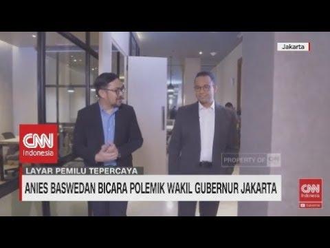 Anies Baswedan Bicara Polemik Wakil Gubernur Jakarta
