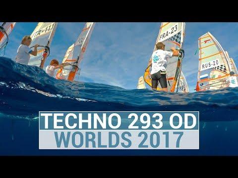 BIC Techno 293 WORLDS 2017 Salou - Highlights