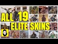 ALL 19 ELITE SKINS MVP ANIMATIONS - OFFICIAL RELEASED ELITE SKIN ONLY! Rainbow Six Siege