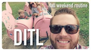 day in the life | fall weekend routine | family of four | brianna k