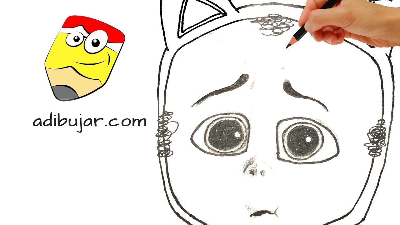 Cómo dibujar al gatito (Bebé Jefazo - Jefe en Pañales) | How to draw ...