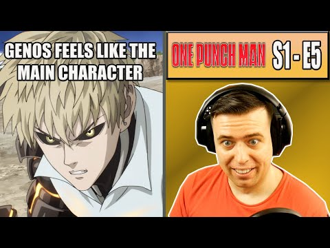 IS GENOS THE MAIN CHARACTER? - One Punch Man Episode 5 - Rich Reaction