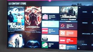 LG Smart TV / LG Content Store missing ITV Player / ITV Hub Live and Catch Up App
