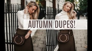 DESIGNER DUPES AUTUMN 2017 // Chloe, Gucci, Hermès, Fendi and More // FASHION MUMBLR