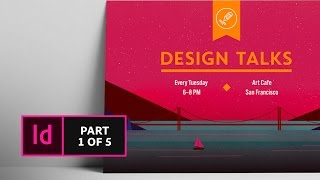 كيفية إنشاء بطاقة بريدية في InDesign (1/5) | Adobe Creative Cloud