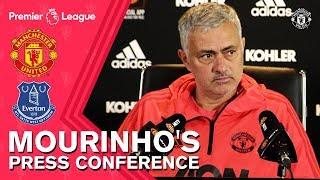 Mourinho's Press Conference | Manchester United v Everton | Premier League