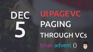 iOS Swift Tutorial: Paging through multiple ViewControllers with UIPageViewController 05/24  🎄