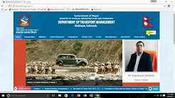 How to check vehicle tax is paid or not on online in nepal