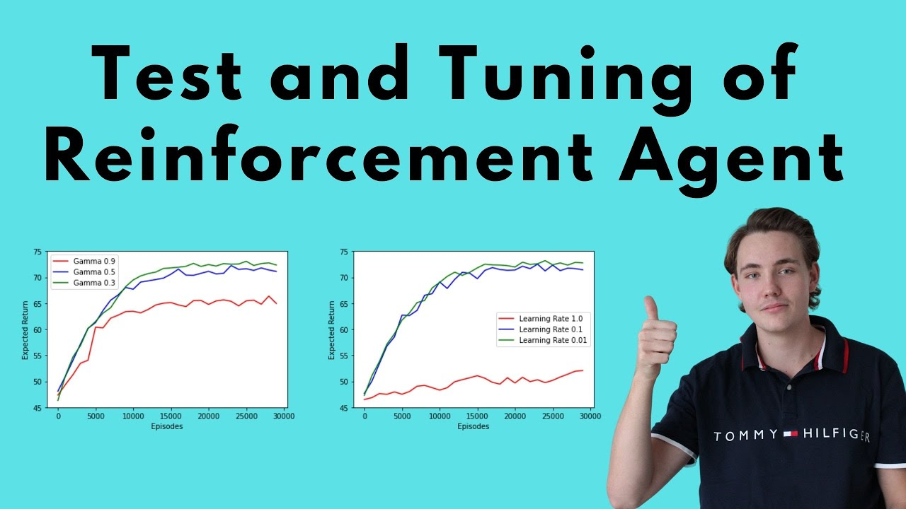 Test and Tuning of Reinforcement Learning Agent in Q-Learning Project