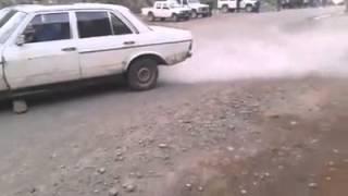 Drift me Mercedes Benz ne Kukes