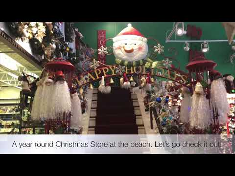 Year Round Christmas Store | Christmas At The Beach | Christmas Decor | Holiday
