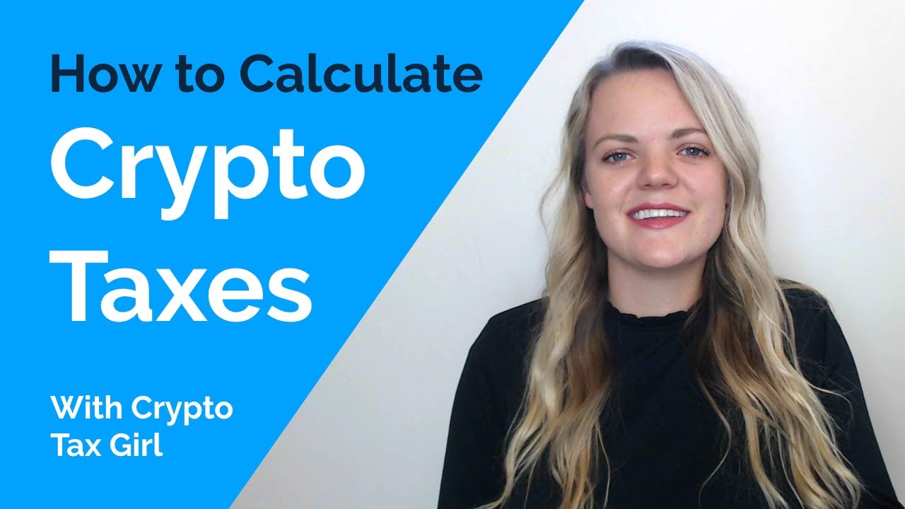 calculating taxes for cryptocurrency