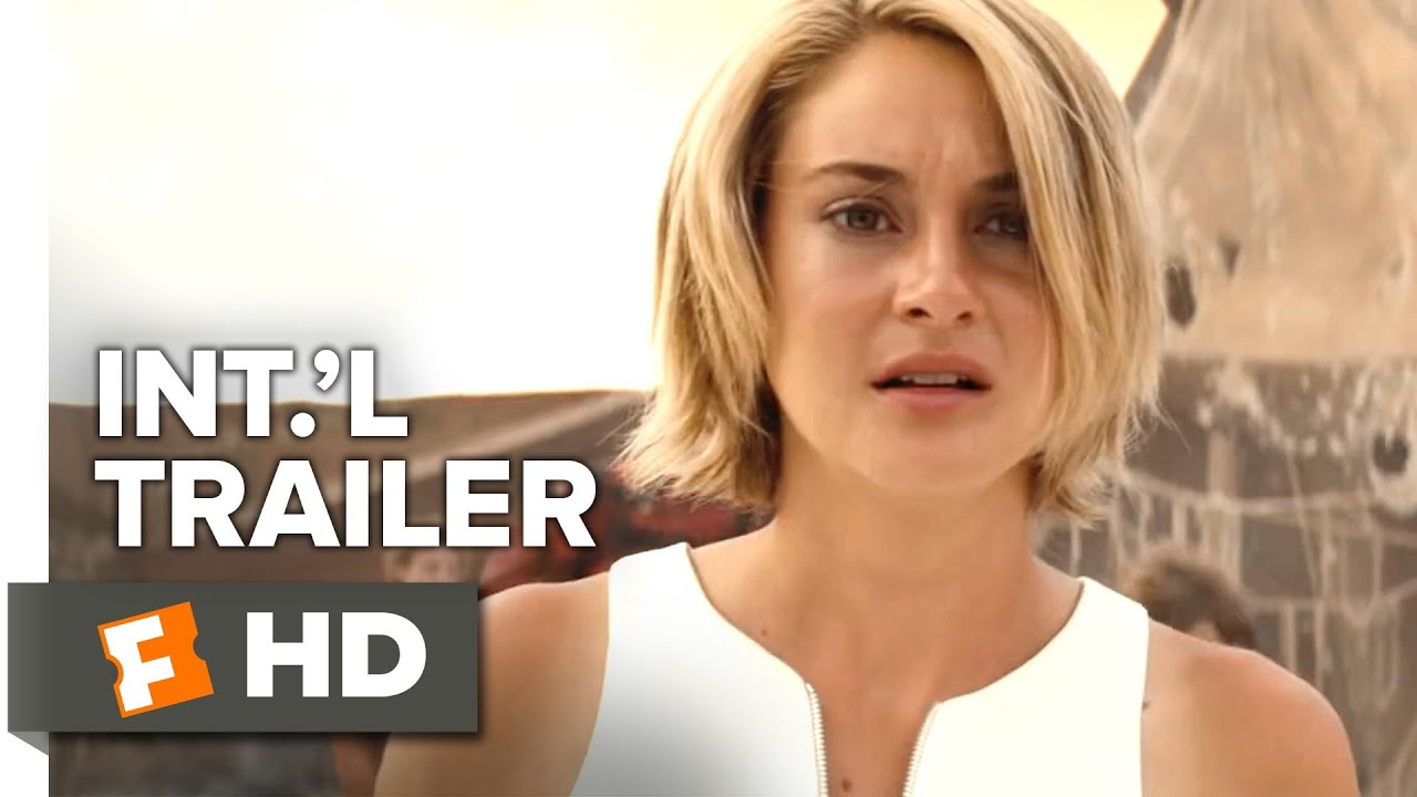 The Divergent Series Allegiant Official Uk Trailer 1 2015 Shailene Woodley Sci Fi Movie Hd Youtube