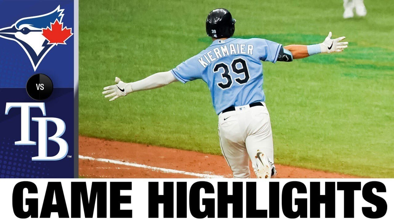 Kevin Kiermaier delivers walk-off triple in 10th | Blue Jays vs. Rays Game Highlights 7/26/2020