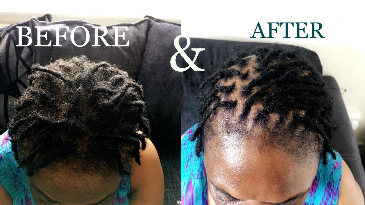 How To Interlock Dreads Locs Tutorial Youtube