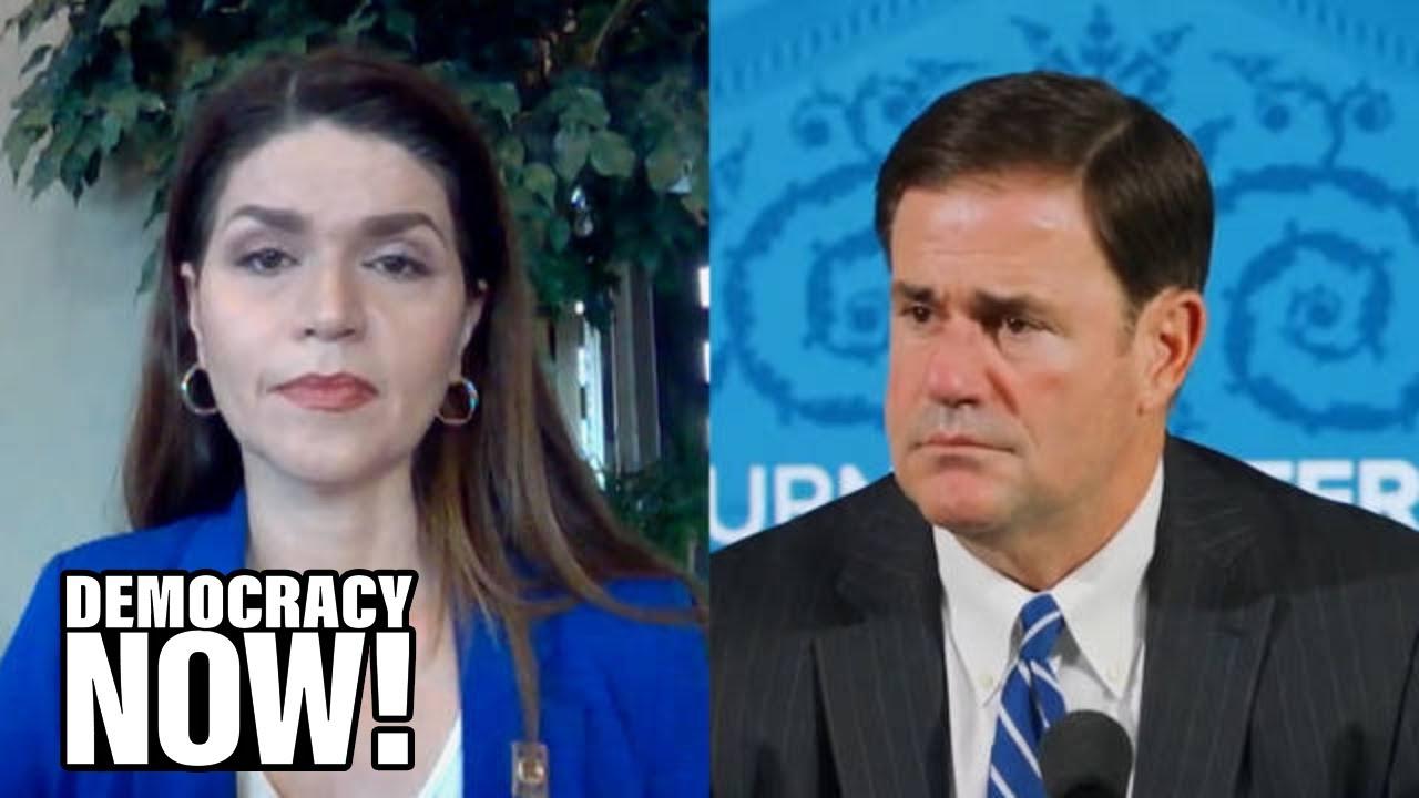 Tucson Mayor Romero Slams Arizona Gov. Ducey for Downplaying COVID & Hasty Reopening as ICUs Fill