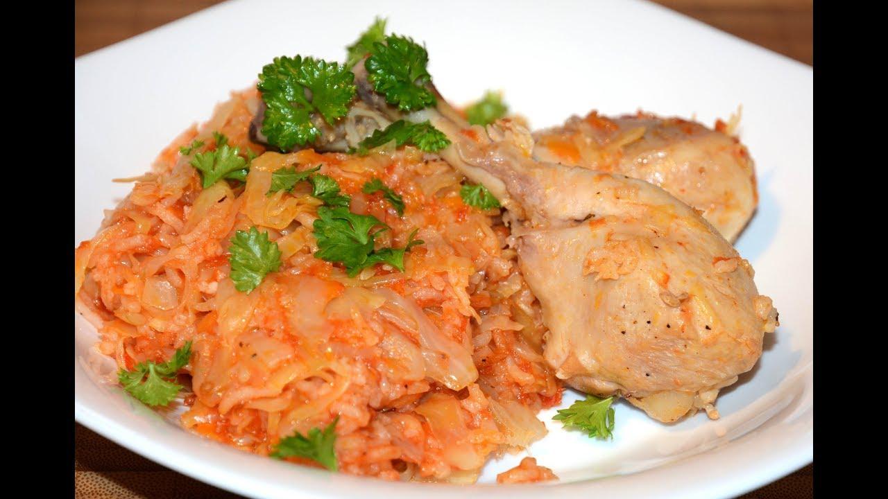 Тушеная Капуста с Рисом и Мясом в Мультиварке Скороварке Redmond|мясо с капустой и рисом в мультиварке